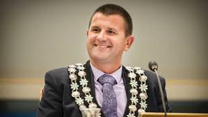 Mayor Neil Holdom New Plymouth
