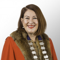 Mayor Sandra Hazlehurt